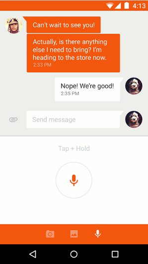 Google Messenger - Android