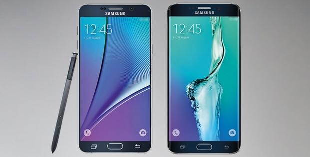 Samsung Galaxy Note 5 & Galaxy S6 Edge Plus - imagini de presa