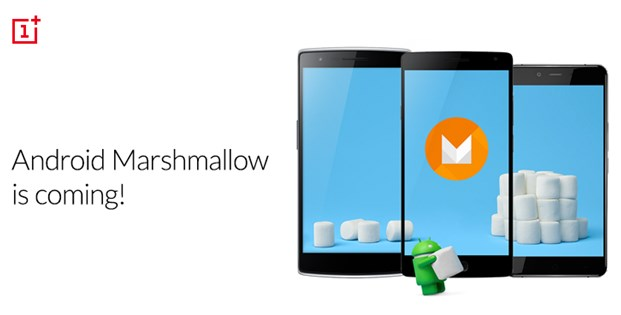 OnePlus One OnePlus 2 OnePlus X update Android 6.0 Marshmallow