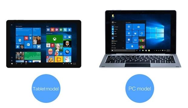 Chuwi HiBook tabletă hibrid