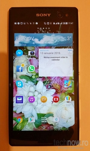 Sony Xperia C3 - Display - Review