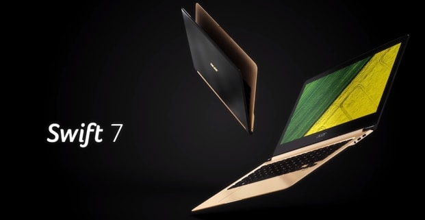Acer Swift 7 - cel mai subțire laptop
