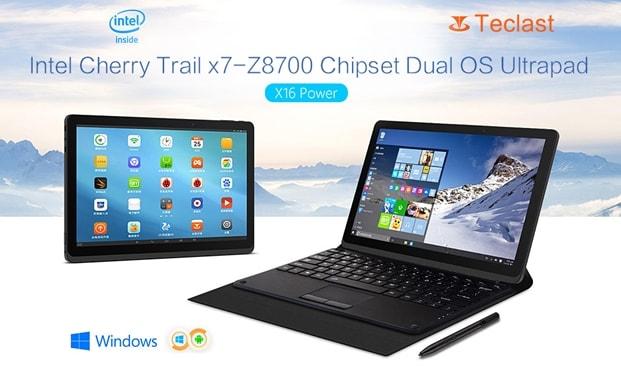 Teclast X16 Power - tabletă dual-boot