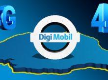 4G Digi Mobil în banda 2100 MHz