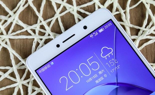 Huawei Honor 6X - partea frontală