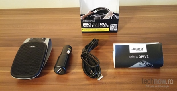 Jabra Drive Review - unboxing