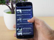 Bluboo Edge - smartphone rezistent la stropii de apă