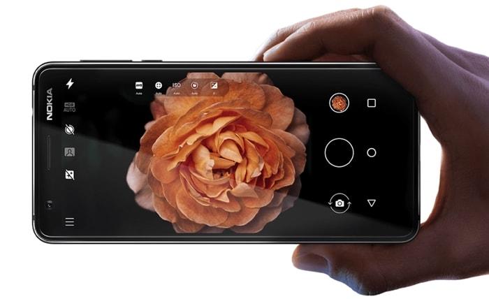Nokia 3.1 - cameră foto